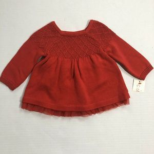Cat & Jack Baby Girl Dress 0-3 Months Infant NWT